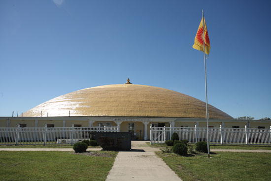 Maharishi Golden Domes at MUM